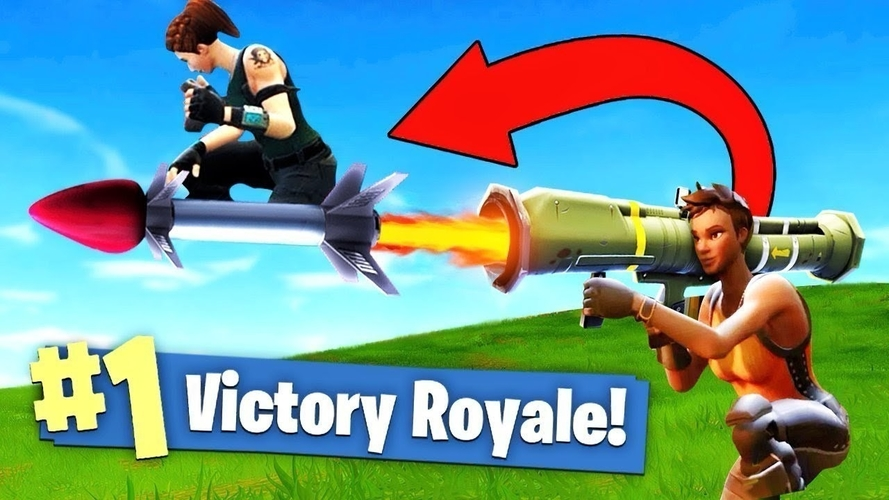 FORTNITE GUIDED MISSILE LAUNCHER for cosplay 3D Print 205033