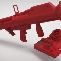 Small FORTNITE GUIDED MISSILE LAUNCHER for cosplay 3D Printing 205040