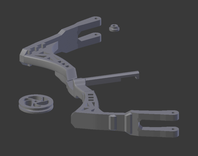 Mini Compound Bow and Arrow 3D Print 205045