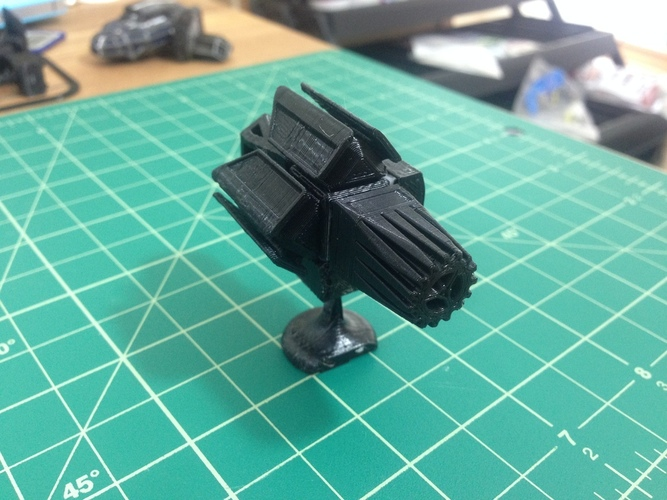 MagShips: The Shield 3D Print 20505