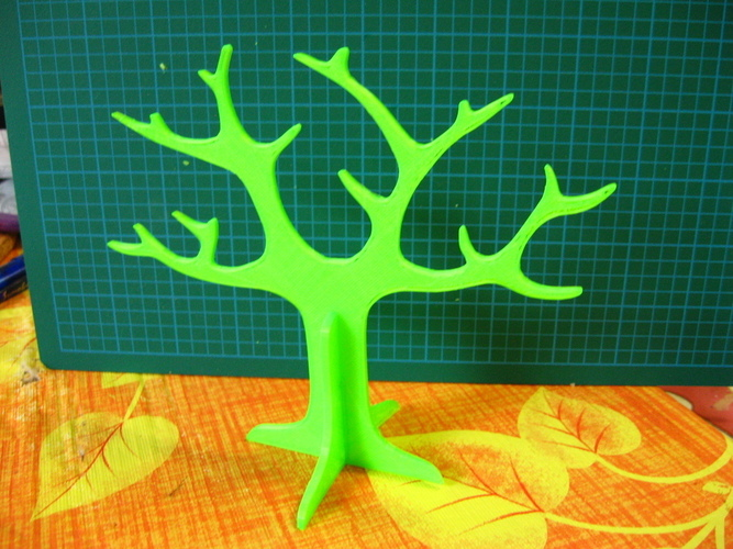 Tree rings holder 3D Print 20510