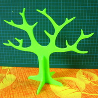 Small Tree rings holder 3D Printing 20510