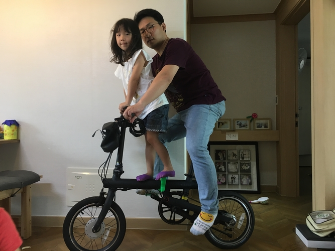 qicycle, electric bicycle, step for children 3D Print 205136