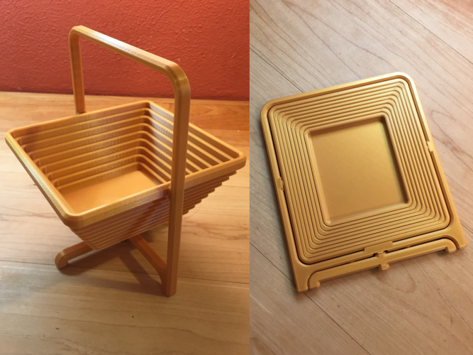 Collapsible Basket 3D Print 205137