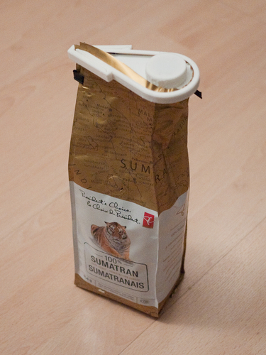 Coffee Bag Lid 3D Print 205148