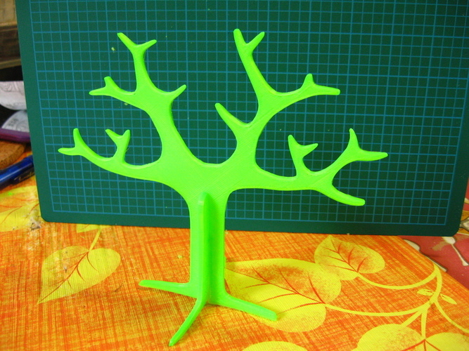 Tree rings holder 3D Print 20520