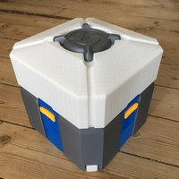 Small Overwatch Loot Box 3D Printing 205229