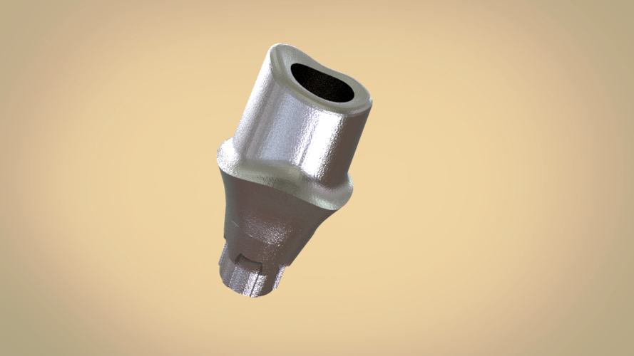 Digital Custom Screw Retained Abutment  3D Print 205247