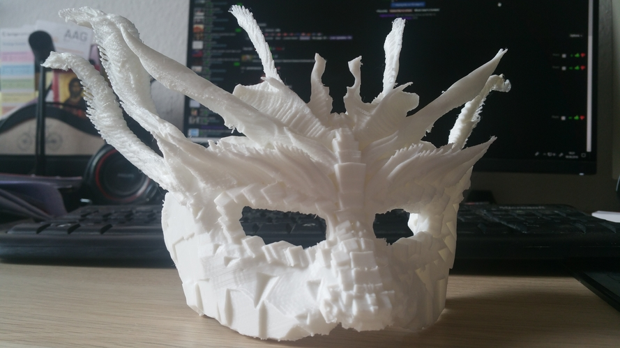 Dragon Mask 3D Print 205454
