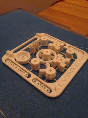 ShipBuilder Starter Set - Mini 3D Print 20560