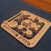Small ShipBuilder Starter Set - Mini 3D Printing 20560