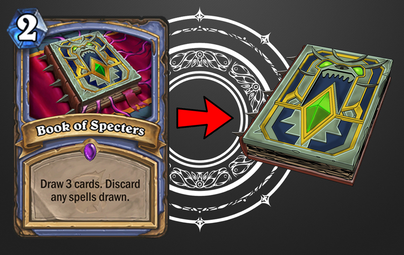 Hearthstone Expansion - Book of Specters 3D Print 205602