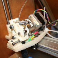 Small Makerslide X-Axis Sled for Makergear extruder 3D Printing 20567
