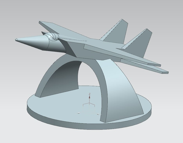 "Monument ""The MIG of takeoff"" (MIG na vzlete) 3D Print 205719"