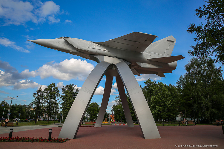 "Monument ""The MIG of takeoff"" (MIG na vzlete) 3D Print 205725"