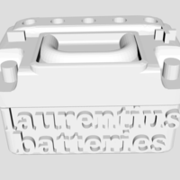 Small Scale Car Battery 3D Printing 205910