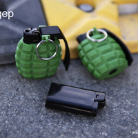 Small Lighter Case - Hand Grenade Shaped 3D Printing 205934