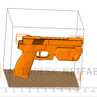 Small ARCADE LIGHT GUN 3D Printing 205947