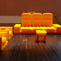 Small mini sofaset 3D Printing 205950