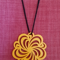 Small Necklace 3D Printing 205974