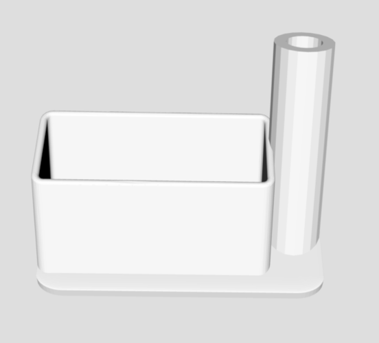Office pen and business-card holder 3D Print 206006