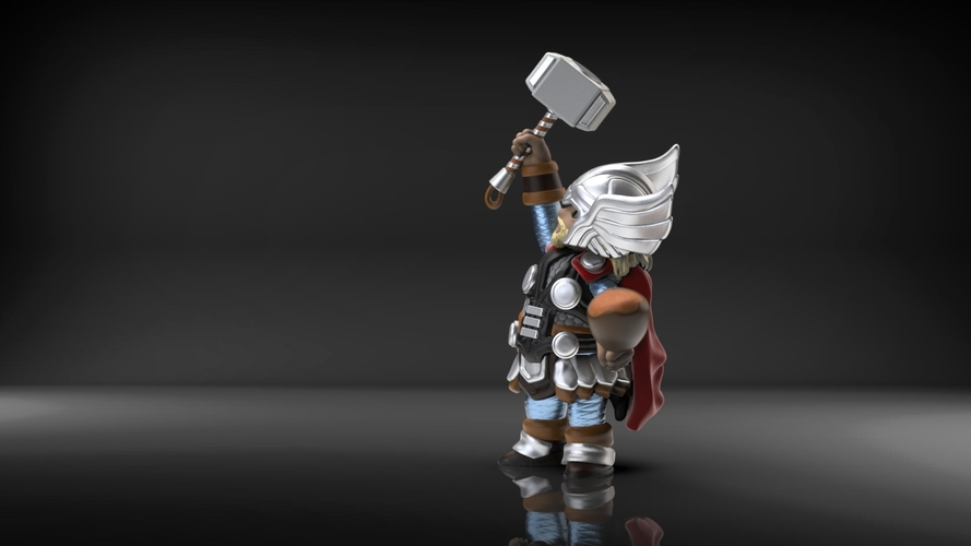 Chubby Thor (low res) 3D Print 206062