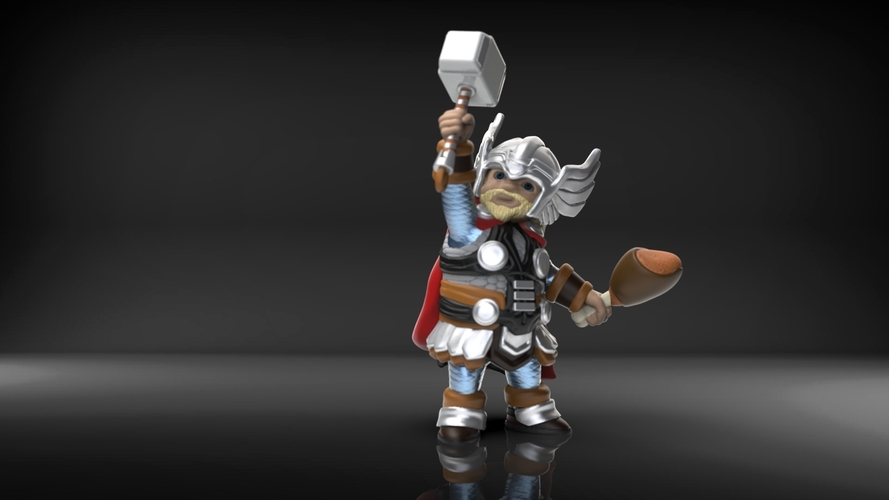 Chubby Thor (low res) 3D Print 206064