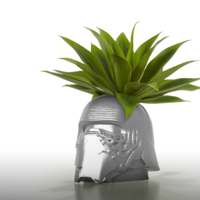 Small  Coolpots # 3 - Kylo Ren Flower pot / Pencil Holder 3D Printing 206094