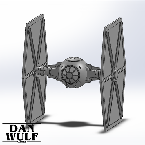 Star Wars Legion Terrain - DWG TIE Fighter 3D Print 206176