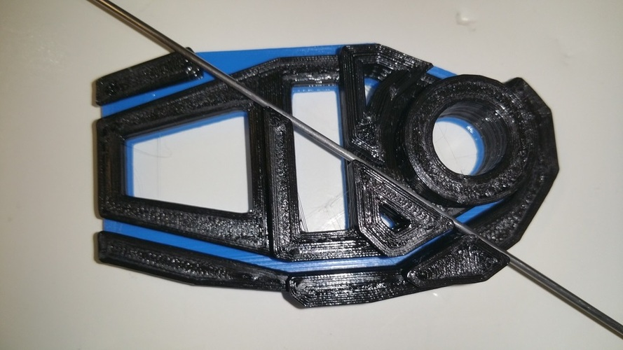 Forward Canopy Mount Tool 3D Print 20619