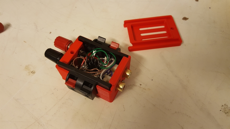 Micro Audio Amplifier 3D Print 206290