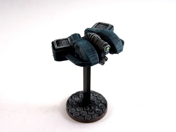 House Vermeni Gunhawk, 28mm Miniature 3D Print 2063