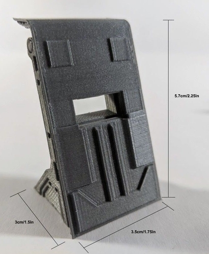Barricade/Blast Shield - 28mm Terrain 3D Print 206353