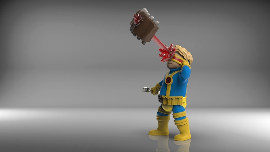 Chubby Cyclops  (low res) 3D Print 206393