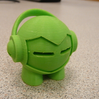 Small Marvin headphones 3D Printing 206396