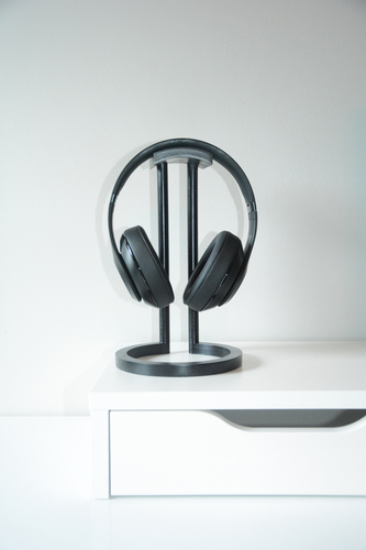 Infinity Headphone Stand 3D Print 206457