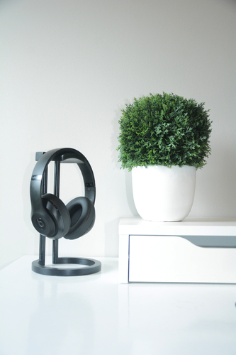 Infinity Headphone Stand 3D Print 206462