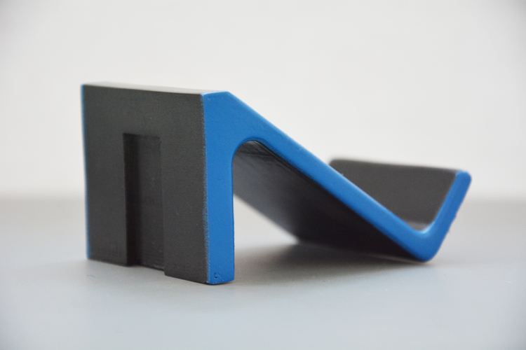 Controller Shelf (Wall Mounted - PS4) 3D Print 206558