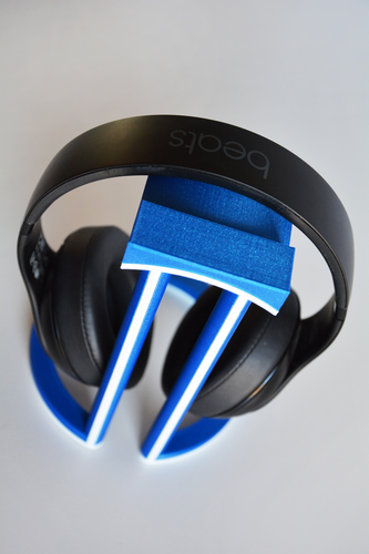 Dual Color Infinity Headphone Stand 3D Print 206567