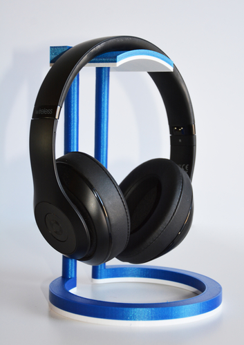 Dual Color Infinity Headphone Stand 3D Print 206568