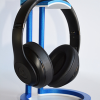 Small Dual Color Infinity Headphone Stand 3D Printing 206568