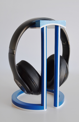 Dual Color Infinity Headphone Stand 3D Print 206569