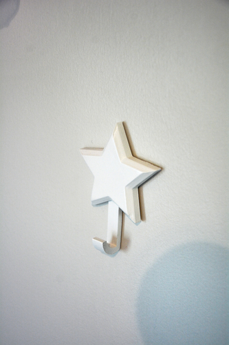 Moon and Star Hooks 3D Print 206586