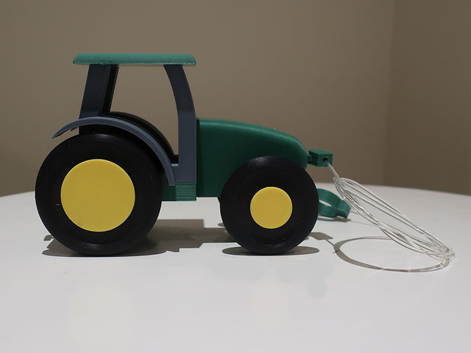 Kids pull tractor 3D Print 206587