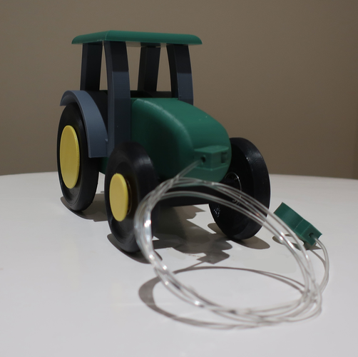 Kids pull tractor 3D Print 206588