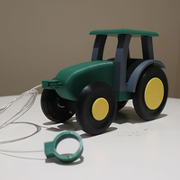 Small Kids pull tractor 3D Printing 206593