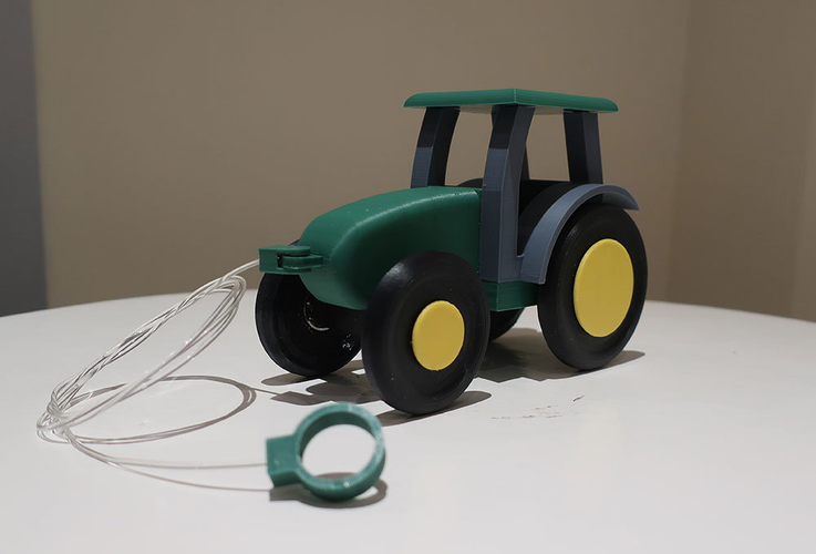 Kids pull tractor 3D Print 206597
