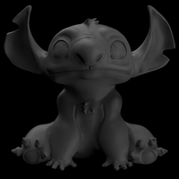 Small Stitch form Lilo & Stitch 3D Printing 206604