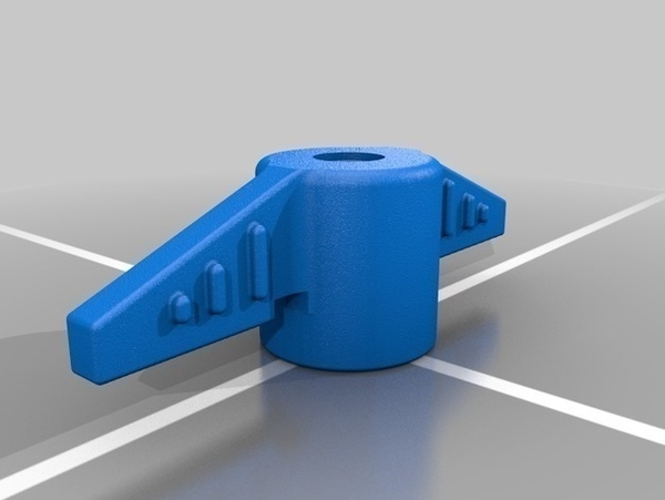 Medium Replacement Valve Handle for Pool Filter 3D Printing 207040