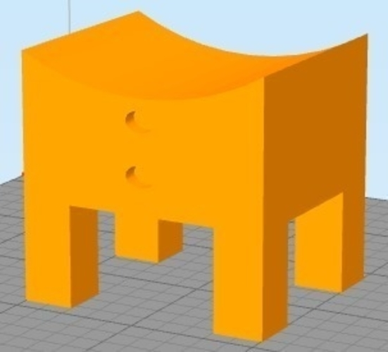 Bedside table design 3D Print 207052
